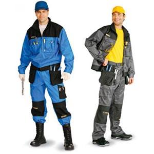 Спецодежда, рабочая одежда, рабочий халат, костюм рабочий