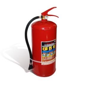 Возможности и принцип действия порошкового огнетушителя