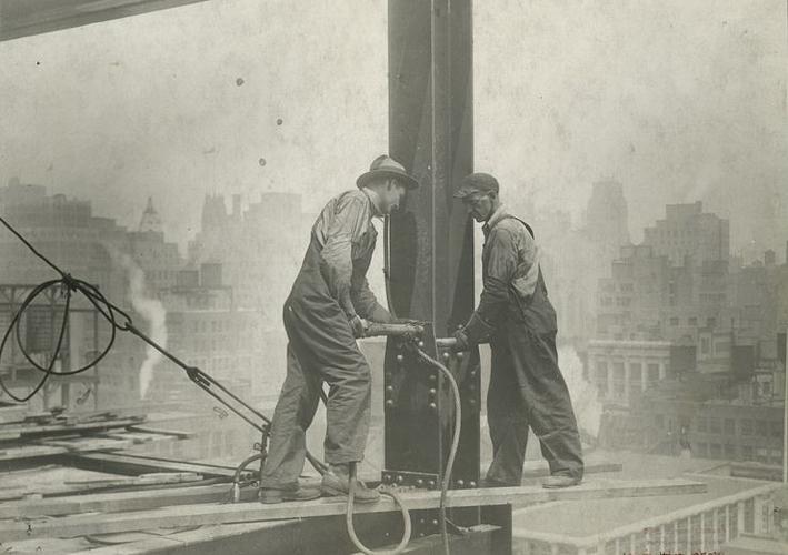 Как строились небоскребы в Америке
