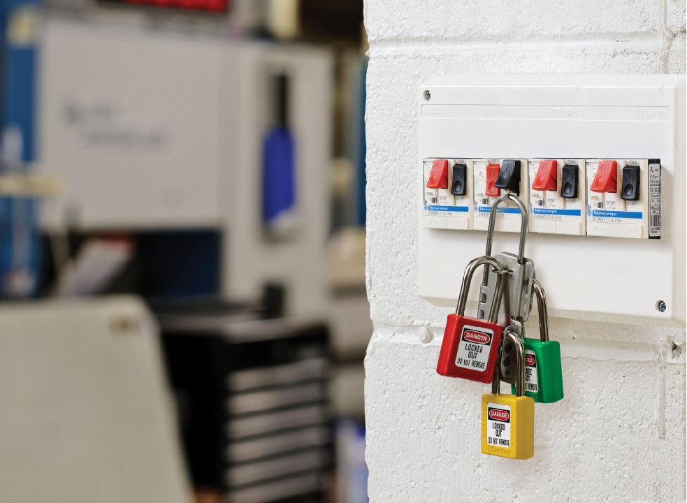 Система LOTO - защита ремонтного персонала на предприятии