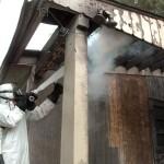Криобластинг при очистке зданий от сажи и копоти: решите проблему быстро и качественно!